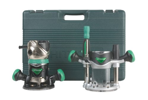 Hitachi KM12VC 2-1/4 Peak HP Variable Speed Fixed/Plunge Base Router