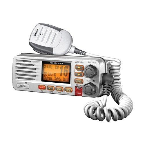 Uniden UM380 Fixed Mount Class D VHF Marine Radio