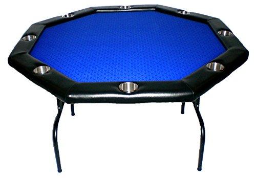Royal Blue Texas Hold 'Em Poker Table