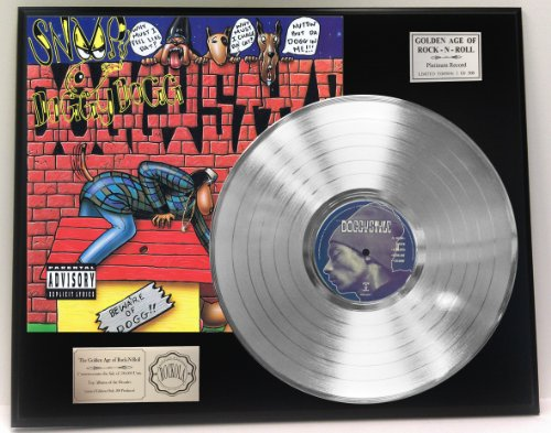 """""""Gin and Juice"""" Platinum LP Record Collectible"""