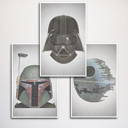 Star Wars Art Print Set