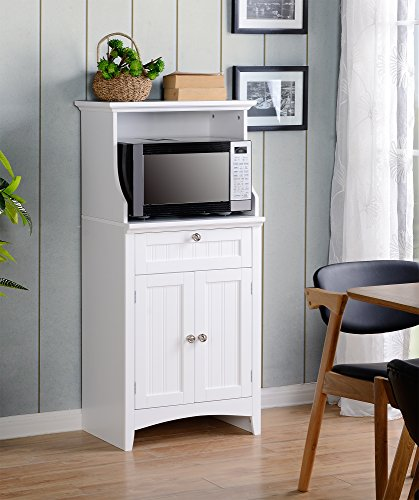 American Furniture Classics OS Home and Microwave Utility Cabinet