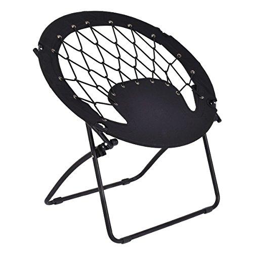 Giantex Folding Bunjo Bungee Chair