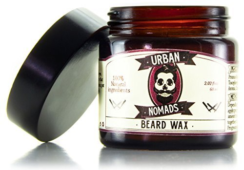 Best Beard Balm & Wax | Smooth Shea Butter & Argan Oil | Leave in Conditioner & Styling Balm
