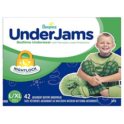 Pampers UnderJams Disposable Nighttime Underwear