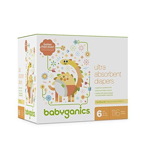 BabyGanics Ultra-Absorbent Diapers