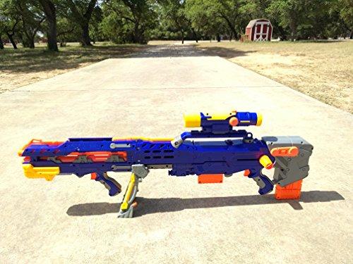 Nerf N-Strike Elite Longshot CS-6 (Blue Version) Dart Blaster