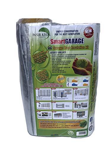 SmartGARAGE Reflective Garage Door Insulation Kit - 9 x 7