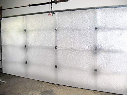 NASA Tech White Reflective Foam Core 2 Car Garage Door Insulation Kit