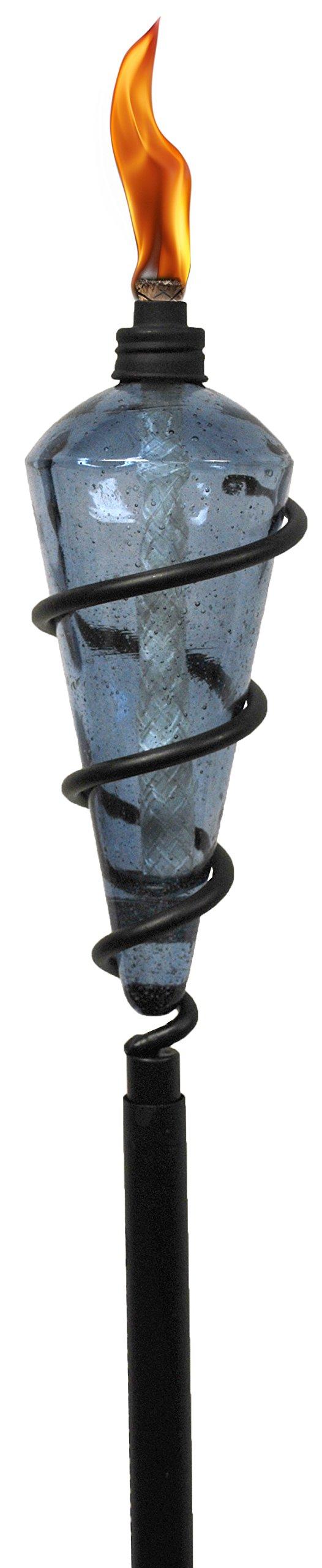 TIKI Brand Swirl Metal Torch