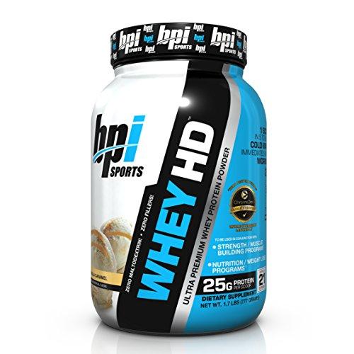BPI Sports Whey HD Ultra Premium Protein Powder