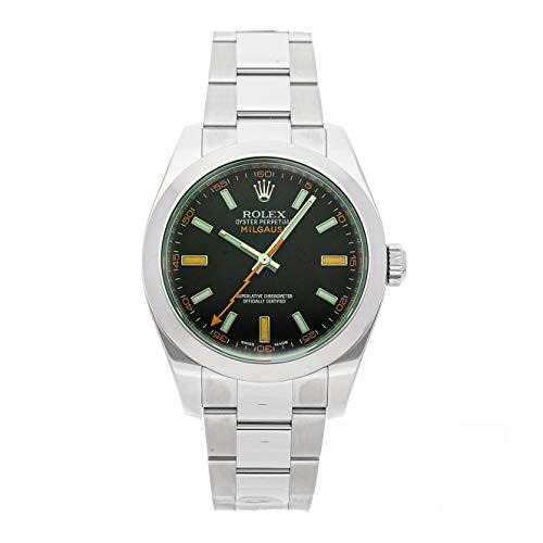 Rolex Milgauss Mechanical Black Dial Men's Watch