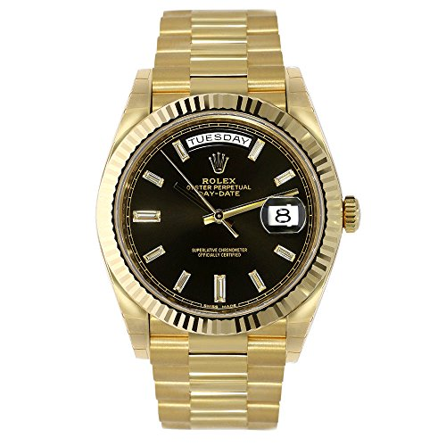 Rolex Oyster Perpetual Day and Date President 18K Gold Watch