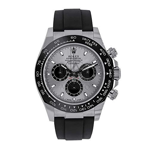 Rolex Oyster Cosmograph Daytona 18K White Gold Man's Watch