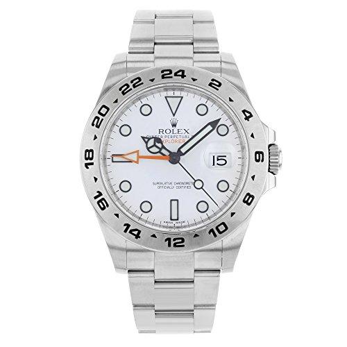 Rolex Explorer II Stainless Steel Men's Watch