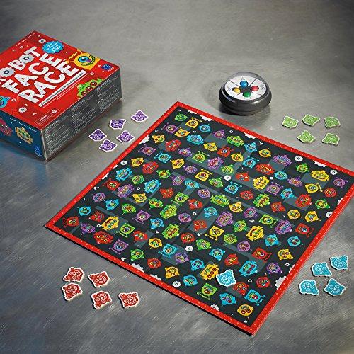 Robot Face Board Game