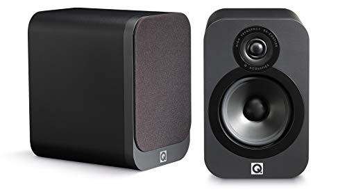 Q Acoustics3020 Bookshelf Speaker (Graphite)