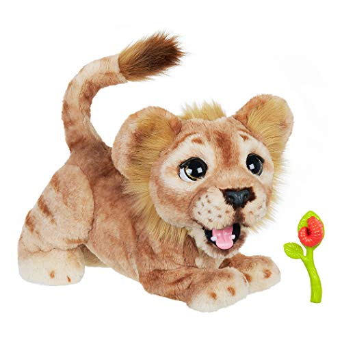Hasbro Disney The Lion King Simba Mighty Roar Interactive Plush Toy