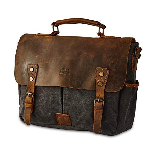 BRASS TACKS Leathercraft Men's Messenger Bag