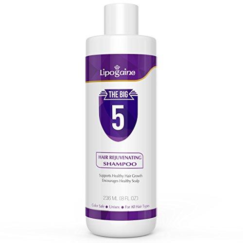 Lipogaine Hair Stimulating Shampoo for Hair Thinning & Breakage, for All Hair Types, Men and Women