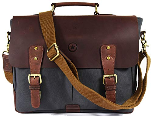 Messenger Bag for Men and Women by Aaron Leather