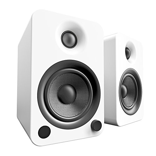 Kanto YU4 Powered Speakers withBluetoothand Phono Preamp - (Matte White)