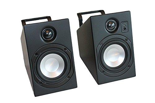 Vanatoo Transparent Zero Powered Speakers (Black, Set of Two)