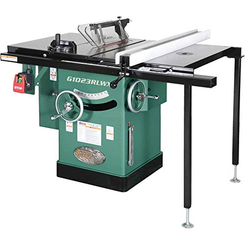 Grizzly G1023RLWX Left-Tilting Cabinet Table Saw