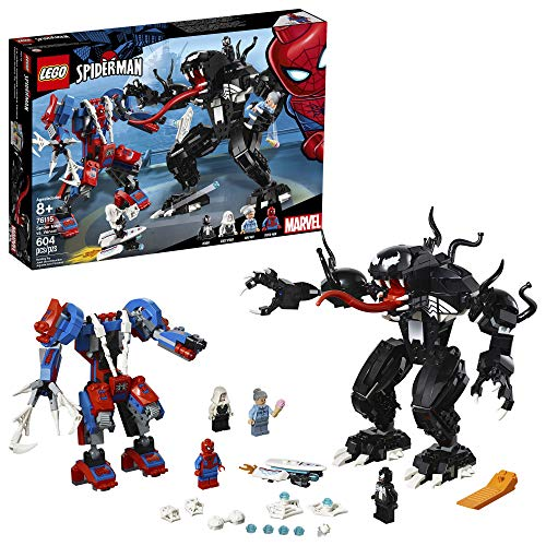 LEGO Marvel Spider-Man: Spider Mech vs. Venom 76115 Building Kit