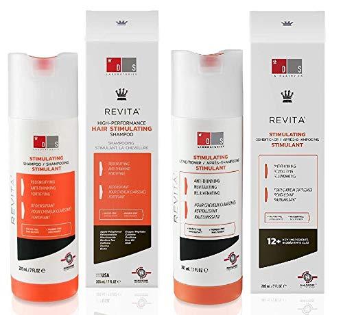 Ds Laboratories Revita COR Stimulating Shampoo and Ds Laboratories Revita.cor Hair Growth Stimulating Conditioner 925ml
