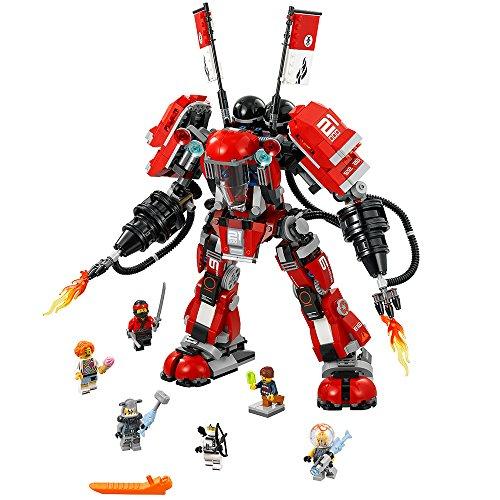 LEGO Ninjago Movie Fire Mech 70615 Building Kit