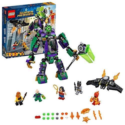 LEGO DC Super Heroes Lex Luthor Mech Takedown 76097 Building Kit