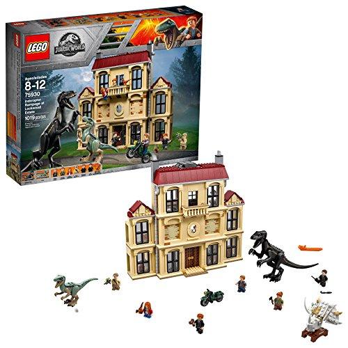 LEGO Jurassic World Indoraptor Rampage at Lockwood Estate set# 75930