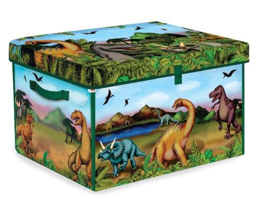 ZipBin Dinosaur Collector Toy Box & Play Set