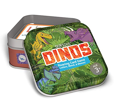 Qurious Dinos Roaring Card Game
