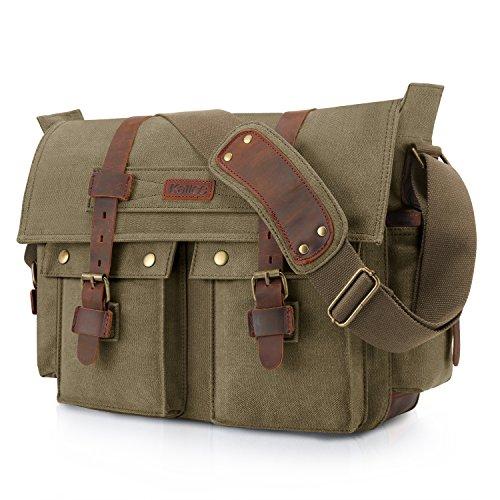 Kattee Military Tote Messenger Bag
