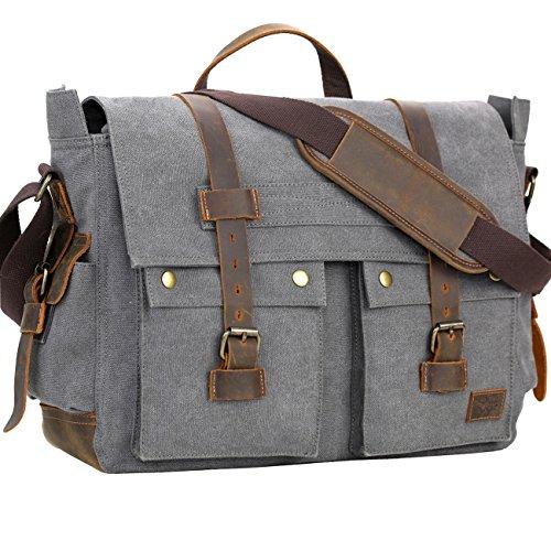 WOWBOX Messenger Bag for Men