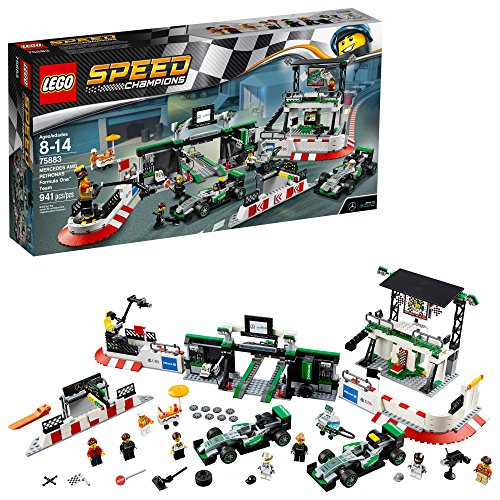 LEGO Speed Champions Mercedes AMG Petronas Formula One Team 75883 Building Kit
