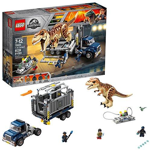 LEGO Jurassic World T-Rex Tracker set# 75918