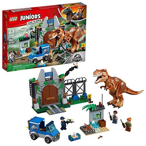 LEGO Juniors Jurassic World T-Rex Breakout set# 10758