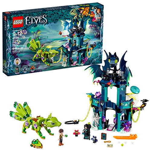Lego Elves Noctura's Tower and The Earth Fox Rescue