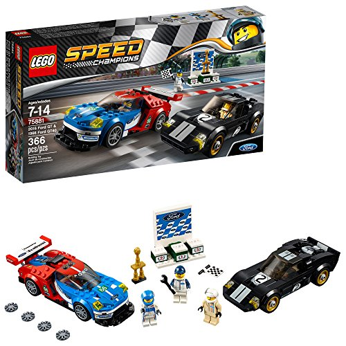 LEGO Speed Champions 2016 Ford GT and 1966 Ford Gt40 Building Kit