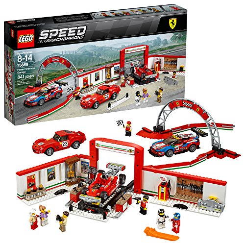 LEGO Speed Champions Ferrari Ultimate Garage 75889 Building Kit