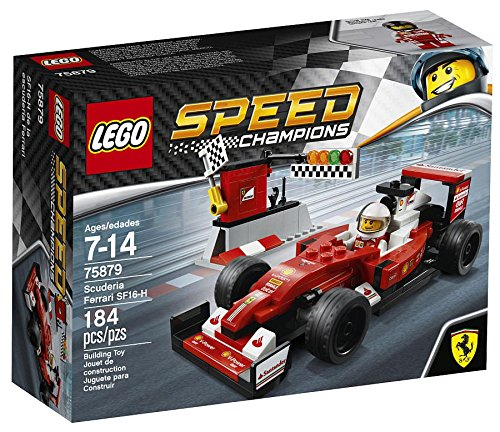 LEGO Speed Champions Scuderia Ferrari SF16-H 75879 Building Kit