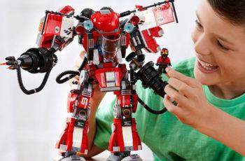 best lego mech sets