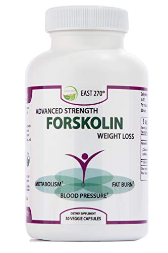East 270 100% Pure Forskolin Extract