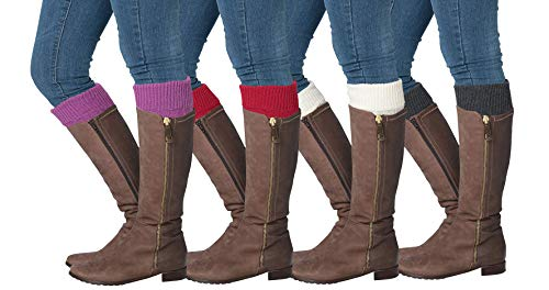 Isadora Paccini Women's Cable Knitted Leg Warmers