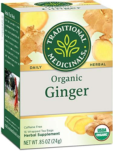 Traditional Medicinals Organic Ginger Herbal Leaf Tea