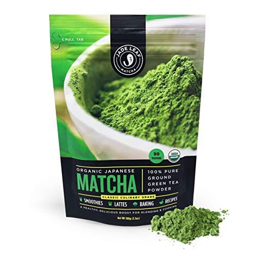 Jade Leaf Organic Japanese Matcha Green Tea