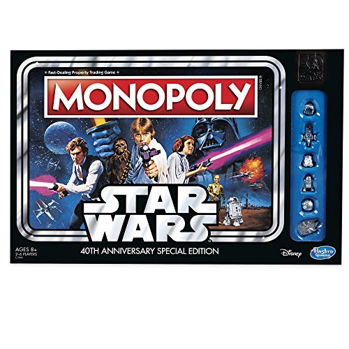 Hasbro Monopoly: Star Wars 40th Anniversary Special Edition